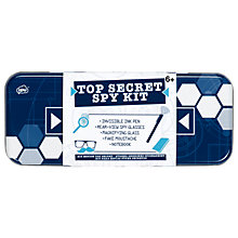 Buy NPW Top Secret Spy Tin Online at johnlewis.com