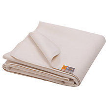 Buy bloom Alma Mini Mattress Protector, Natural Wheat Online at johnlewis.com