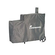 Buy Landmann Tennessee Charcoal 200 Smoker Cover, Grey / White Online at johnlewis.com