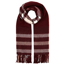 Buy Miss Selfridge Check Scarf Online at johnlewis.com