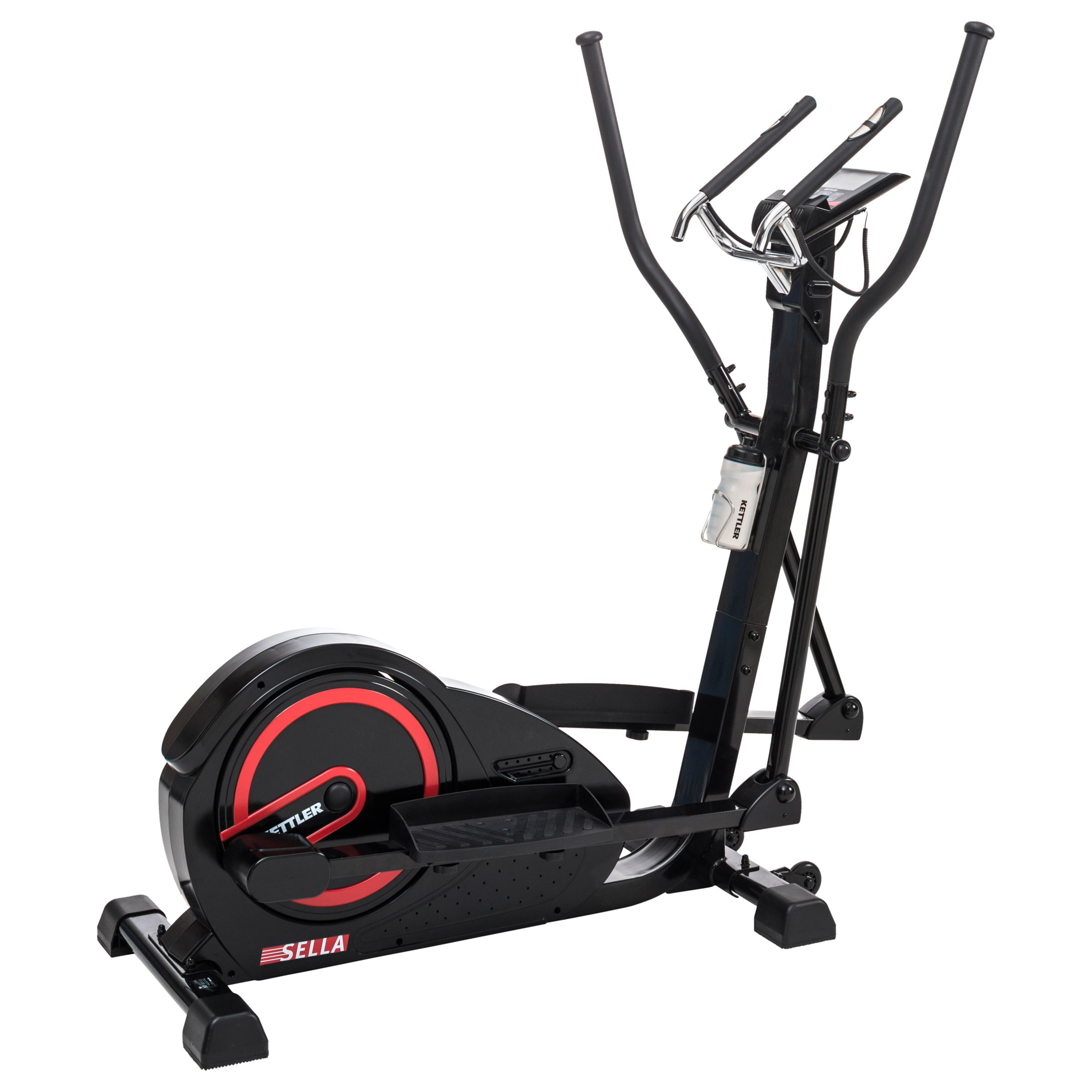 KETTLER Sport KETTLER Sport Sella Cross Trainer, Black/Red
