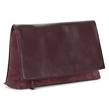 Buy Jaeger Portland Leather Clutch Bag Online at johnlewis.com