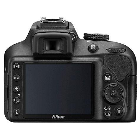 buy nikon d3400 digital slr camera with 18 55mm lens, hd