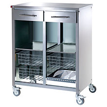 Buy Hahn Double Steel Cook Butcher's Trolley Online at johnlewis.com