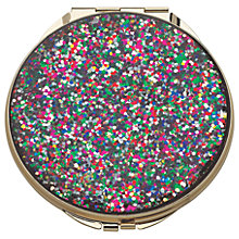 Buy kate spade new york Glitter Compact Mirror Online at johnlewis.com