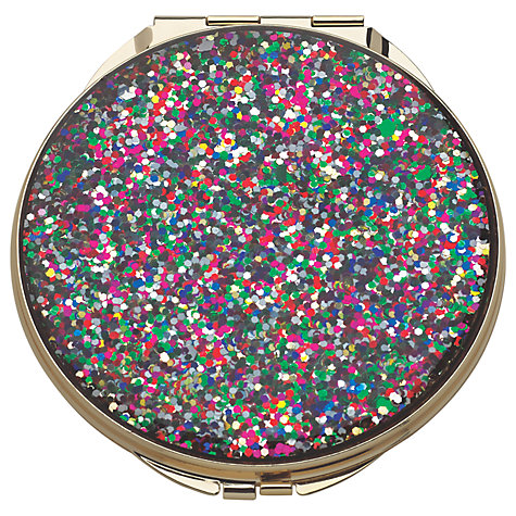 Buy kate spade new york glitter compact mirror john lewis for Mirror spades