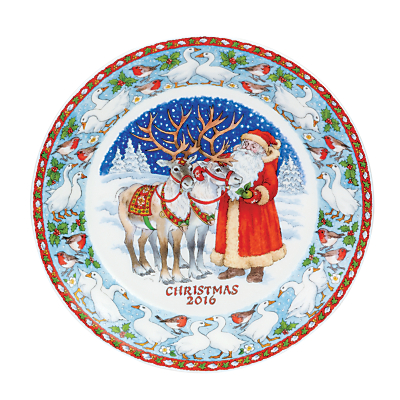 Image of Dunoon 2016 20cm Christmas Plate