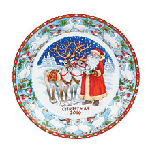 Buy Dunoon 2016 20cm Christmas Plate Online at johnlewis.com
