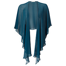 Buy Jacques Vert Chiffon Wrap, Dark Green Online at johnlewis.com