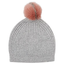 Buy L.K. Bennett Lulu Cashmere-Blend Bobble Hat Online at johnlewis.com