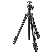 Buy Manfrotto Compact Light Aluminium Tripod with Ball Head, Black Online at johnlewis.com