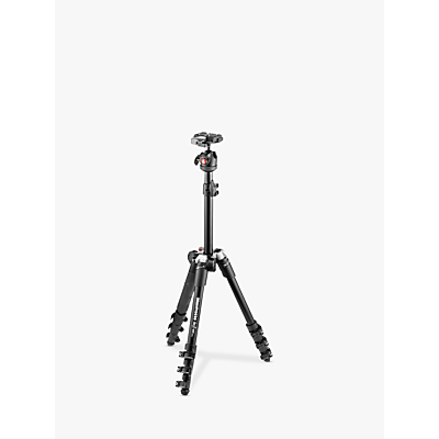 Manfrotto BeFree One Aluminium Travel Tripod with Head, Black