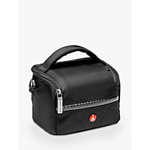 Buy Manfrotto Advanced A1 Camera Shoulder Bag for CSCs, Black Online at johnlewis.com