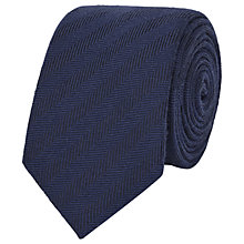 Buy Reiss Haunt Herringbone Stripe Tie Online at johnlewis.com