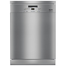 Buy Miele G4940BKCLST Freestanding Dishwasher, Clean Steel Online at johnlewis.com