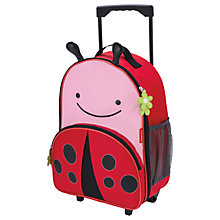 Buy Skip Hop Zoo Rolling Luggage, Ladybug Online at johnlewis.com
