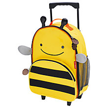 Buy Skip Hop Zoo Rolling Luggage, Bee Online at johnlewis.com