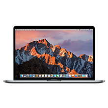 "Buy New Apple MacBook Pro with Touch Bar, Intel Core i7, 16GB RAM, 512GB, 15.4"", Space Grey and Microsoft Office 365 Home Premium, 5 PCs, One Year Subscription Online at johnlewis.com"