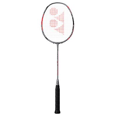 Yonex Duora 77 Badminton Racquet, Silver/Black/Red