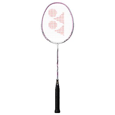 Yonex Nanoray 10F Badminton Racquet, White/Pink