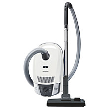Buy Miele Compact C2 Allergy EcoLine Cylinder Vacuum Cleaner, White Online at johnlewis.com