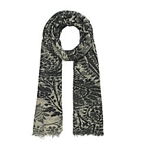 Buy Gerard Darel Ombre Scarf, Grey/Blue Online at johnlewis.com