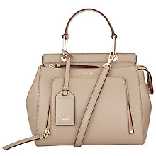 Buy DKNY Byant Park Sffiano Leather Handle Satchel Online at johnlewis.com