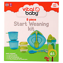 Buy Vital Baby 8 Piece Weaning Kit Online at johnlewis.com