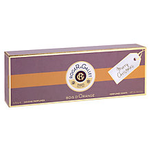 Buy Roger & Gallet Bois D'Orange Soap Gift Set Online at johnlewis.com
