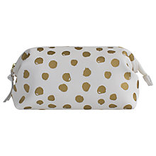 Buy John Lewis Molly Dot Frame Case, White/Gold Online at johnlewis.com