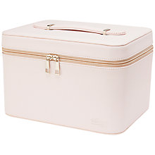 Buy The Vintage Cosmetic Company Train Case, Dusty Pink Online at johnlewis.com