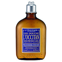 Buy L'Occitane for Men Hair & Body Shower Gel, 250ml Online at johnlewis.com
