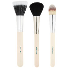 Buy The Vintage Cosmetic Company Essential Face Brush Set Online at johnlewis.com