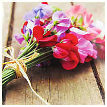 Buy Paperhouse Sweet Pea Bouquet Greeting Card Online at johnlewis.com