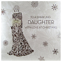 Buy Five Dollar Shake To A Sparkling Daughter With Love at Christmas Card Online at johnlewis.com