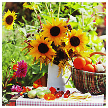 Buy Paperhouse Sunflowers Greeting Card Online at johnlewis.com