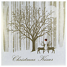 Buy Five Dollar Shake Christmas Kisses Card Online at johnlewis.com