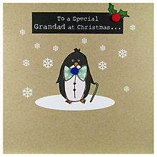 Buy Saffron Cards and Gifts To A Special Grandad At Christmas Card Online at johnlewis.com