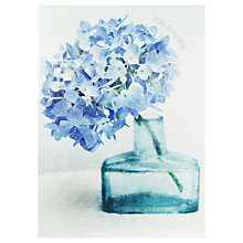 Buy Paper Rose Hydrangea Sympathy Greeting Card Online at johnlewis.com