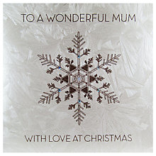 Buy Five Dollar Shake To A Wonderful Mum With Love at Christmas Card Online at johnlewis.com