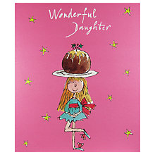 Buy Woodmansterne Girl Balancing Jelly Christmas Card Online at johnlewis.com