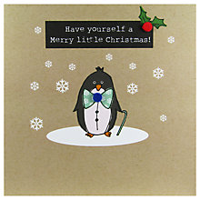 Buy Saffron Cards and Gifts Have Yourself A Merry Little Christmas Card Online at johnlewis.com