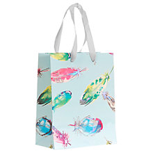 Buy John Lewis Feather Small Gift Bag, Multi Online at johnlewis.com