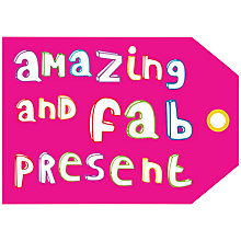 Buy Dear Henry Amazing And Fab Luggage Gift Tag, Pack of 10 Online at johnlewis.com