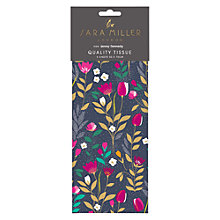 Buy Sara Miller Tulips Tissue Paper, Navy / Pink Online at johnlewis.com