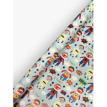 Buy Paper Salad Superhero Gift Wrap, 2m Online at johnlewis.com