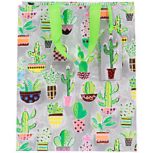 Buy Paper Salad Cactus Gift Bag, Large Online at johnlewis.com