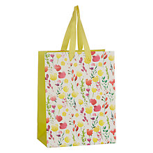 Buy John Lewis Easter Floral Gift Bag, Small Online at johnlewis.com