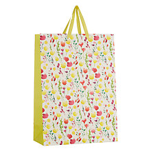 Buy John Lewis Easter Floral Gift Bag, Large Online at johnlewis.com