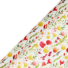 Buy John Lewis Easter Floral Gift Wrap, 3m Online at johnlewis.com